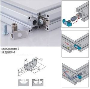 END CONNECTOR PG30 & SET (3.71.30.ST)