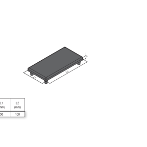 END CAP PG50 50x100 (4.11.50.50100)
