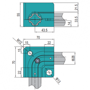 L ANTI-TORSION BLOCK (TFS.D28.5.02.01)