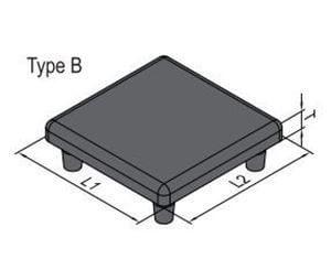 END CAP-PG45-4545 (4.11.45.4545)