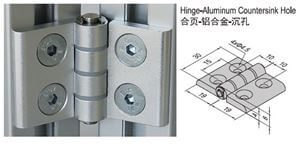 HINGE w COUNTERSINK HOLE PG15/20 & SET (7.22.20.20.ST)