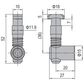 ANCHOR CONNECTOR PG40 STANDARD (MODEL P) (3.11.40.02)