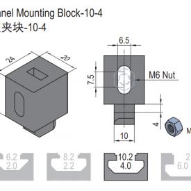 PANEL MOUNTING BLOCK 6.21.10.04