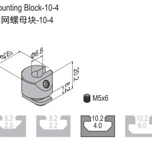 MOUNTING BLOCK-10 6.41.10.04.01
