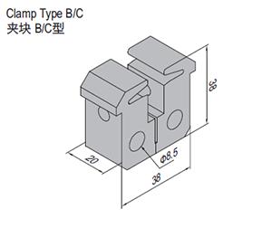 Clamp Type B (SPS.CL40.B)