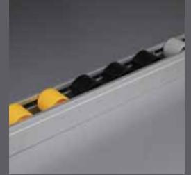 Flow Roller Track (TFS.D28.8.01.0145.YW)
