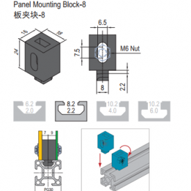 PANEL MOUNTING BLOCK-8 (6.21.08) PG30