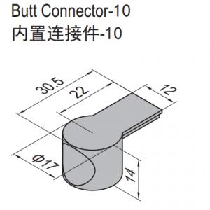 BUTT CONNECTOR-10 (PC) (3.61.10)