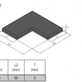 END CAP-PG30-6060L (4.11.30.6060L)