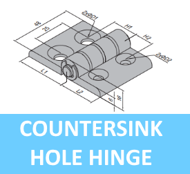 Countersink Hole Hinge