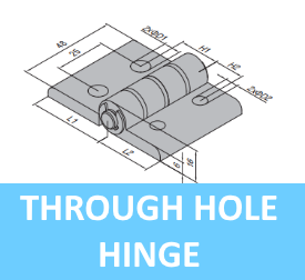 Through Hole Hinge