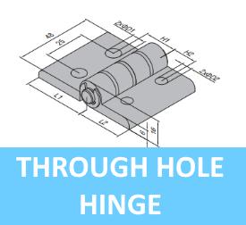 Through Hole Hinge