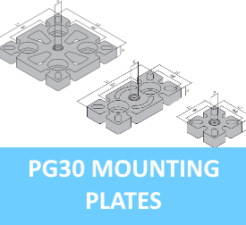 PG30 Mounting Plates