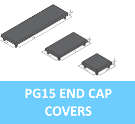 PG15 End Cap Covers