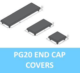 PG20 End Cap Covers