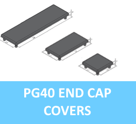 PG40 End Cap Covers