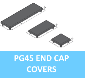 PG45 End Cap Covers