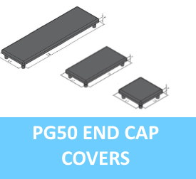 PG50 End Cap Covers