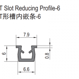 T SLOT REDUCING PROFILE-6 (6.11.06)