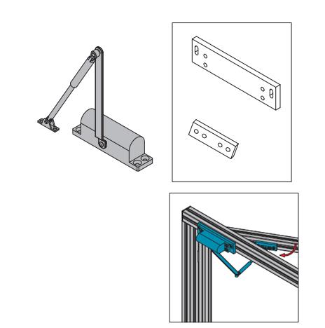 DOOR SHUTTER FOR PROTECTIVE GRILLE UNIT (PNDH.DS.ST)