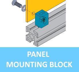 Panel Mounting Block [6.21.x...]