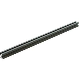 10x10mm aluminum profile 300mm – Black
