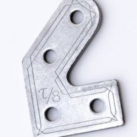 45 degree bracket for 10×10