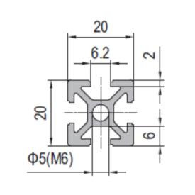 - Modular Assembly Strut Profile