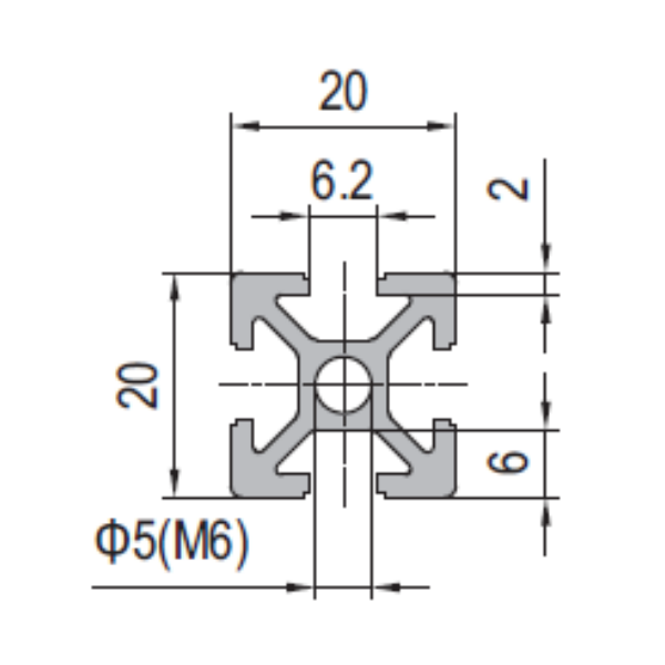 - Modular Assembly Strut Profile