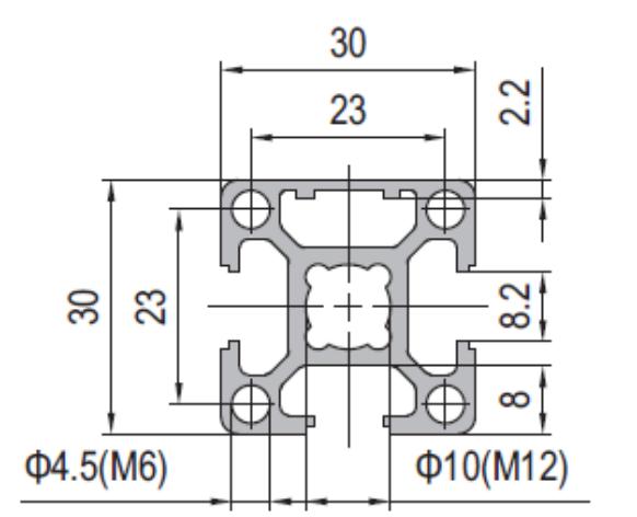Modular Assembly Strut Profile
