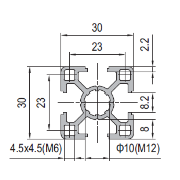 Modular Assembly Strut Profile