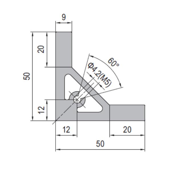 Modular Assembly Angle Profile