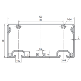 Modular Assembly Conduit Profile