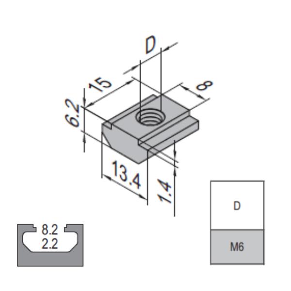 Modular Assembly Pre-Set Nut