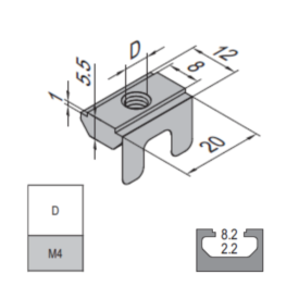 Modular Assembly Subsequent Nut
