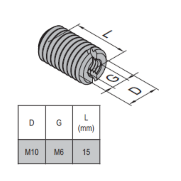 Modular Assembly Hole Reducer Bolt