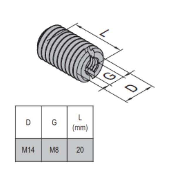 Modular Assembly Hole Reducer Bolt