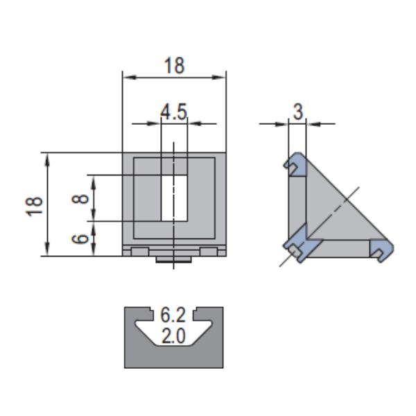 Modular Assembly Die Cast Bracket