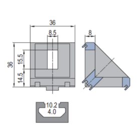 Modular Assembly Die Cast Bracket